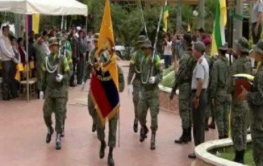 (VIDEO) Se Conmemoró el Día Nacional de la Bandera Ecuatoriana.