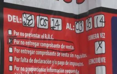 (VIDEO) Clausuran 1 local en Zamora y 5 en Yantzaza.