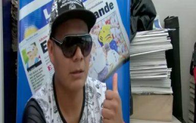 (VIDEO) Artista de Macas promociona su música en Zamora