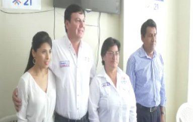 (VIDEO) Alianza por el Cambio en Zamora Chinchipe presenta sus candidatos a Asambleístas