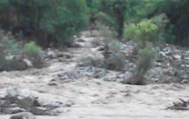 (Video) La crecida del río sigue causando daños en terrenos de Chaquircuña