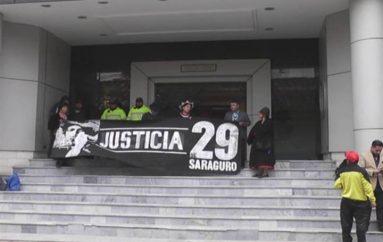 (Video) Inició audiencia de juzgamiento en contra de 12 procesados del cantón Saraguro.