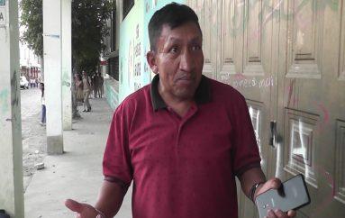 Morador de El Tambo pide mejoramiento de vía que conduce a Unidad Educativa del Milenio