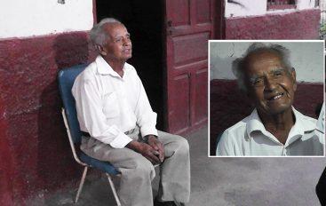 (VIDEO) Catamayense de 80 años asegura jamás haber visitado una unidad medica