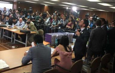 Difieren audiencia sobre juicio a Correa en caso Balda