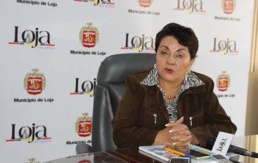 Alcaldesa confirma llegada del presidente para fiestas de Loja.