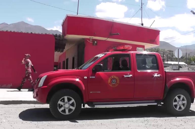 (Video) Cuerpo de Bomberos ya cuenta con plan de contingencia para el retorno de la Virgen de El Cisne.