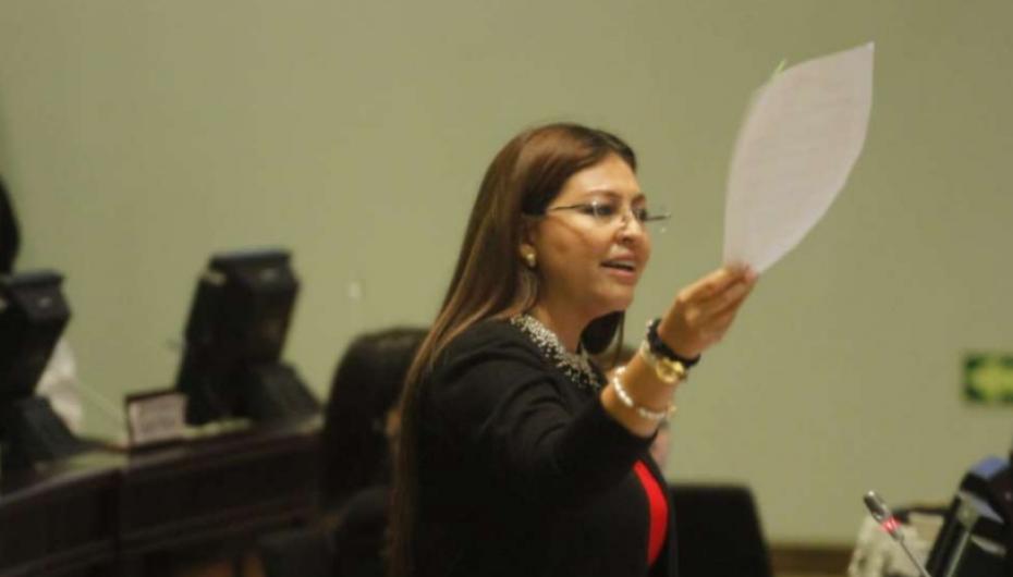 Asamblea destituye a legisladora Sofía Espín.