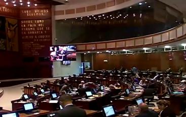 (Video) Asambleísta por Zamora Chinchipe respalda reducción de salarios a legisladores y altos funcionarios.