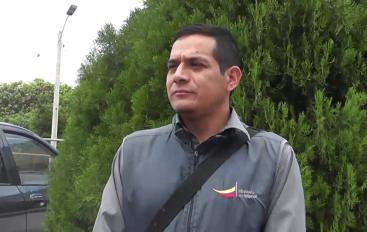 (Video) Teniente de la Parroquia El Tambo clausuró evento político por no tener plan de contingencia.
