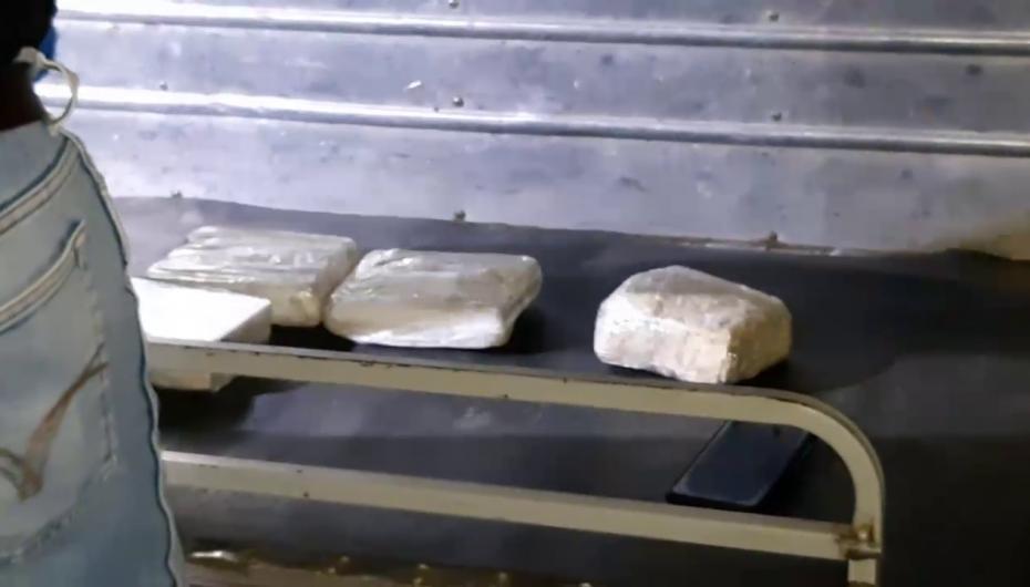 (Video) Autoridad de la Policía Nacional destacó el decomiso de sustancias ilícitas tras operativo.