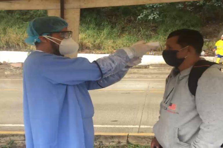 43 personas que presentaron cierta afección de salud fueron impedidas de ingresar a Catamayo.