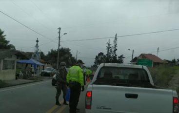 Estricto control en la vía Loja-Catamayo.