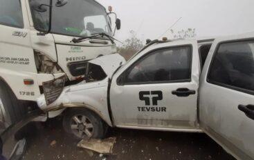 Accidente de tránsito en la vía Catamayo – Portovelo dejó varios heridos