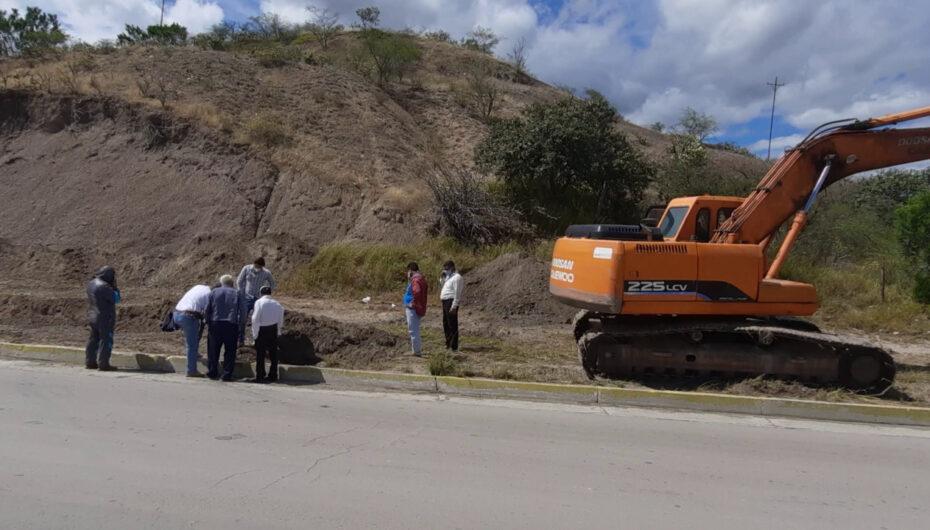 Se construirá un canal de alivio para evitar afectaciones producto de las lluvias.