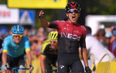 Richard Carapaz líder en el Tour de Polonia