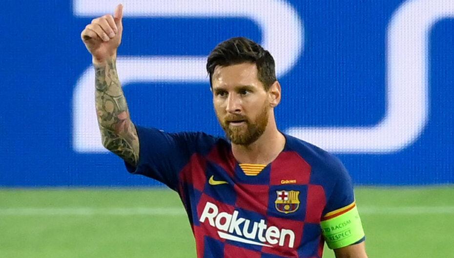 Messi anunció su deseo de salir del Fc Barcelona