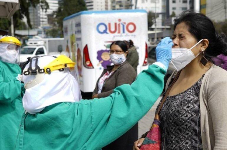 Primer caso de reinfección de covid-19 confirmado en Ecuador