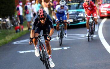 Richard Carapaz es el nuevo líder del equipo INEOS en el Tour de Francia