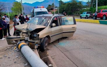 Cinco menores de edad heridos tras accidente en Catamayo