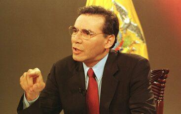 Tribunal penal rechazó recurso de casación presentado por expresidente Jamil Mahuad