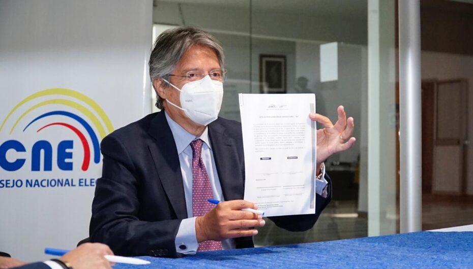Tribunal niega apelación contra candidatura de Guillermo Lasso