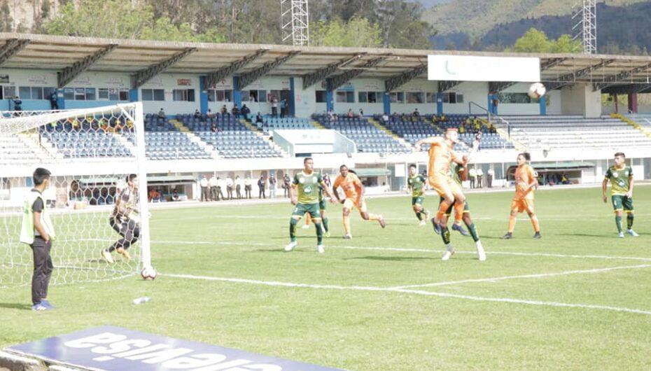 Libertad F.C. empata ante Valle de Catamayo en el torneo de 2da categoria