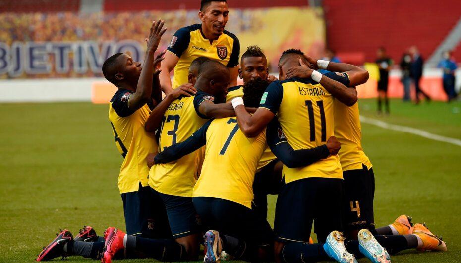 Ecuador vence por 4-2 a Uruguay en el Estadio Casa Blanca