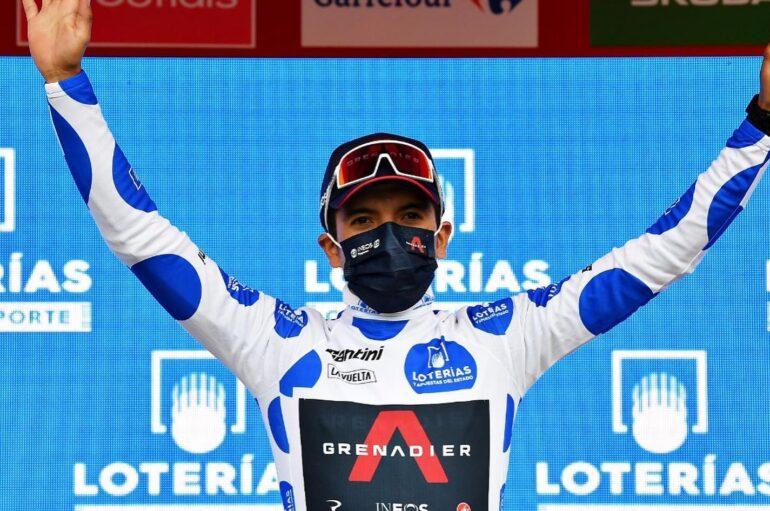 El ecuatoriano Richard Carapaz es el líder de la montaña en la Vuelta a España 2020