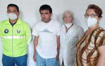 Ciudadano con discapacidad desaparecido en Catamayo fue encontrado en Ibarra
