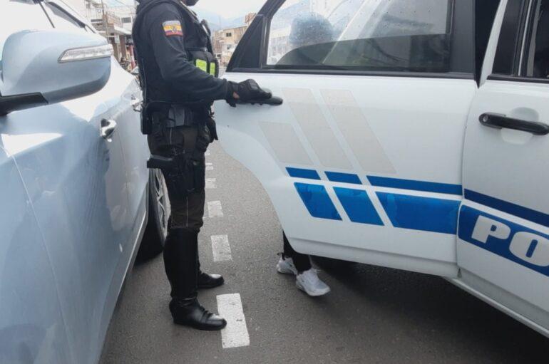 Ciudadana fue retenida por robo en Catamayo, mientras otra se dio a la fuga
