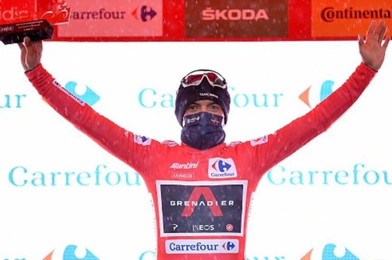 Richard Carapaz es el líder de la Vuelta a España 2020