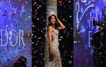 Leyla Espinoza es la nueva Miss Ecuador 2020, representante de Quevedo