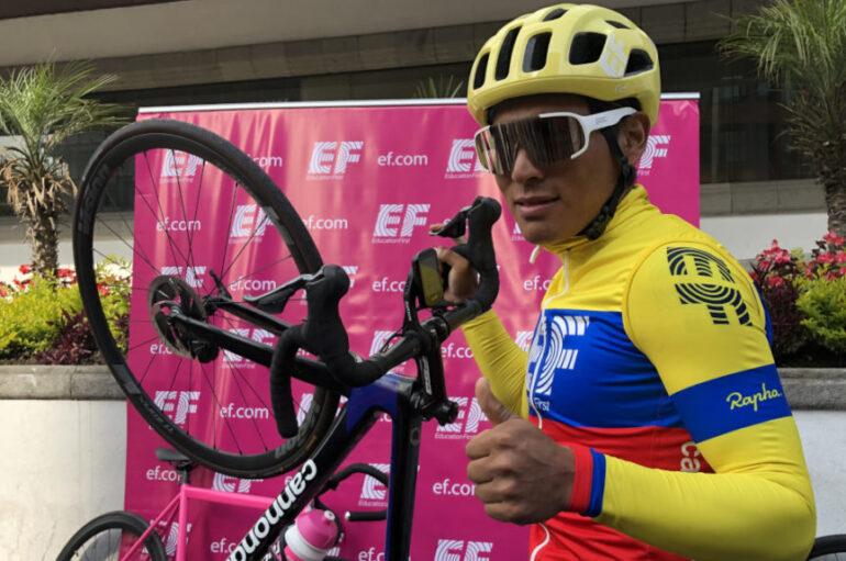Jonathan Caicedo el mejor latinoamericano en el Giro de Italia primera etapa