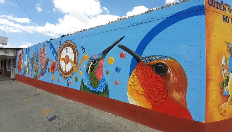 Se inauguró primer mural artístico en Catamayo