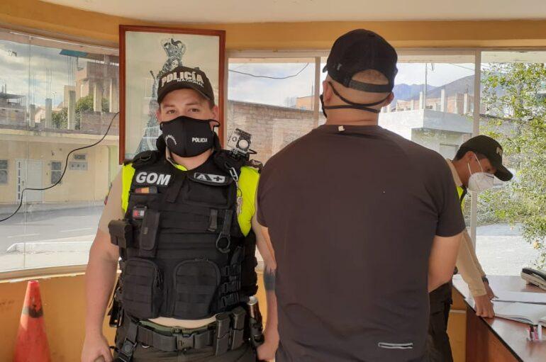 Ciudadano fue detenido por el robo de varios artículos en Catamayo
