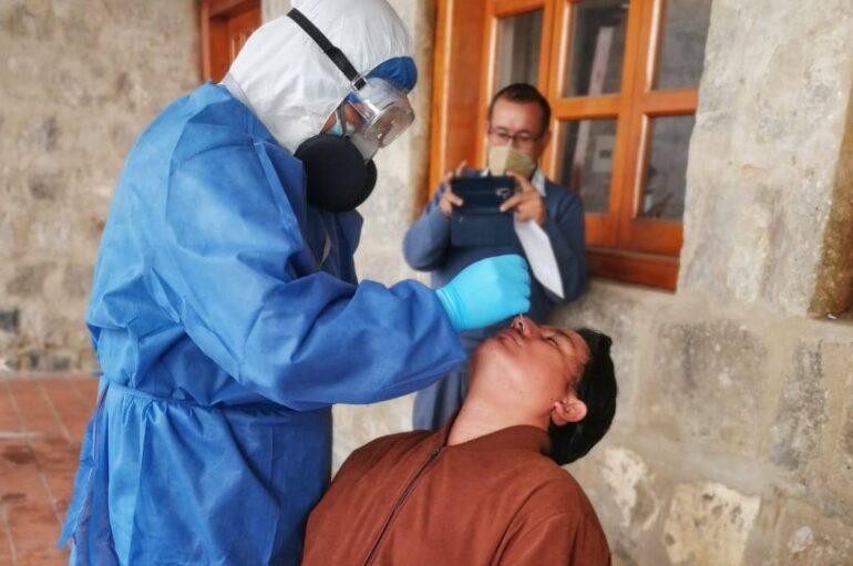 Ecuador registra 153.423 casos confirmados de covid-19 este lunes 19 de octubre