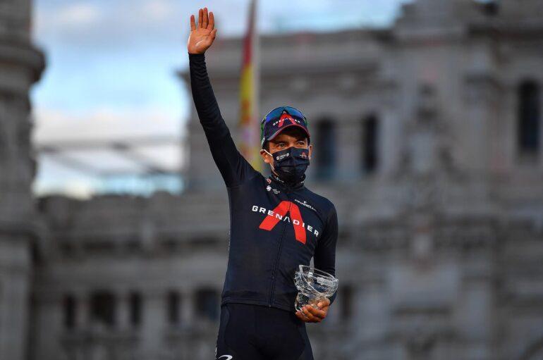 Richard Carapaz en el top 10 de los mejores ciclistas del mundo