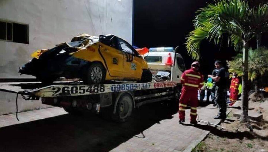4 muertos en trágico accidente de tránsito en Nangaritza