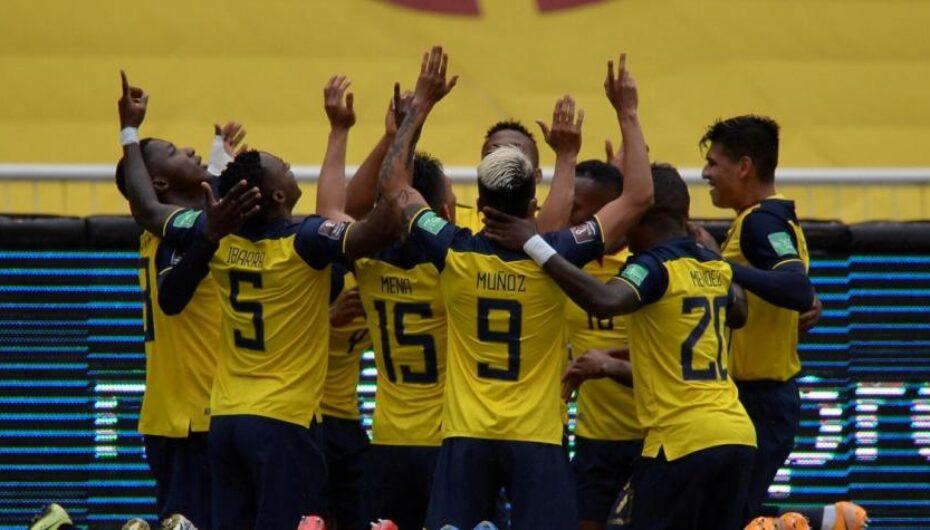 Ecuador ganó con goleada a la selección de Colombia