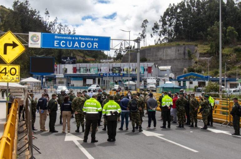 Ecuador y Colombia analizan reapertura gradual de fronteras con protocolos de bioseguridad