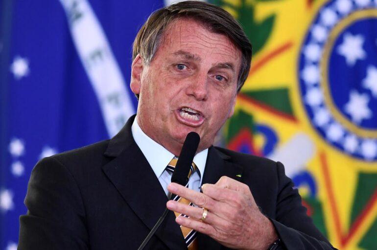 La frase hemofóbica de Jair Bolsonaro al hablar del coronavirus en Brasil
