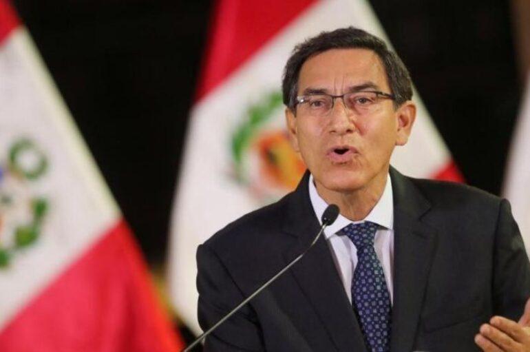 """Congreso peruano destituye a Marín Vizcarra por """"incapacidad moral"""""""