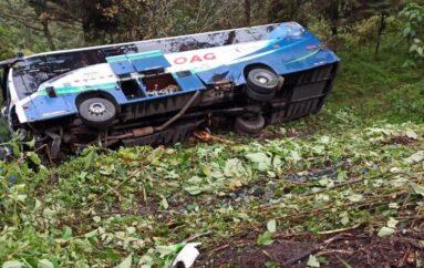 Ocho heridos tras fuerte accidente en la vía Aloag – Santo Domingo
