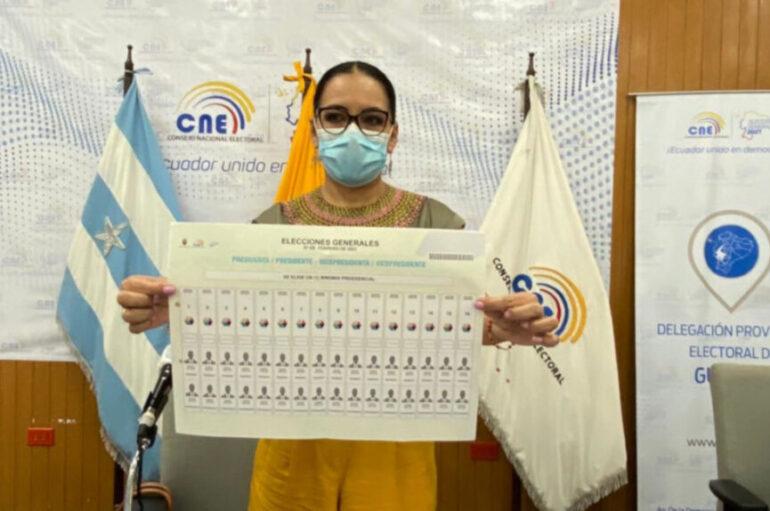 CNE aprueba nuevo diseño de papeleta presidencial