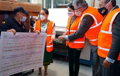 CNE destruirá 6 millones de papeletas presidenciales por error en logotipo de movimiento