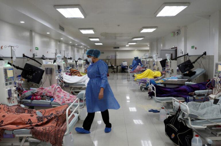 Hosp. IESS Quito Sur opera al 150% de su capacidad por aumento de casos covid-19