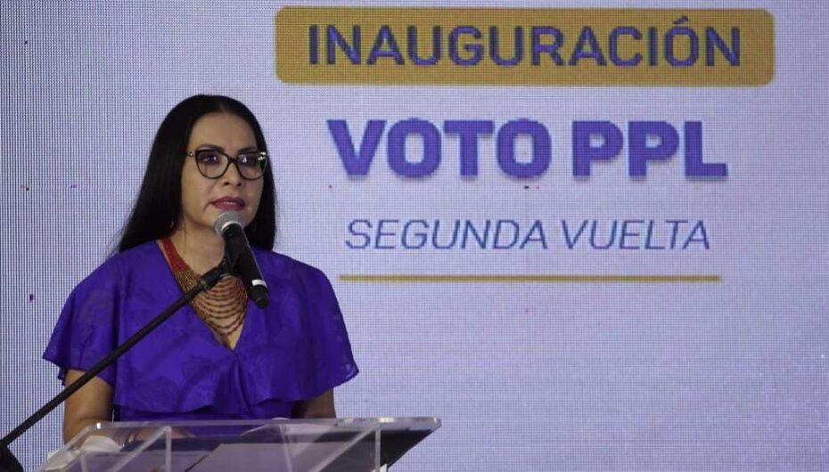 Votación en la segunda vuelta inició con privados de libertad