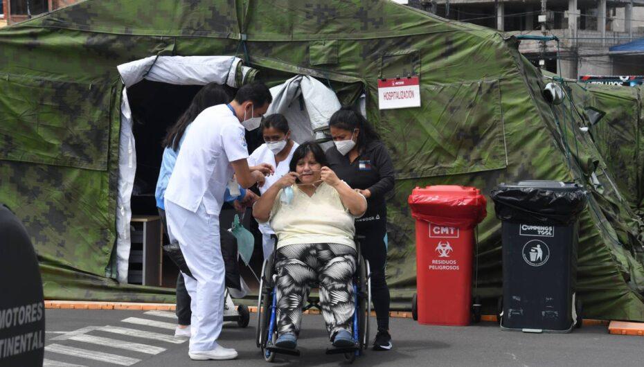 Ecuador registra 342.678 casos confirmados de covid-19 este viernes 09 de abril