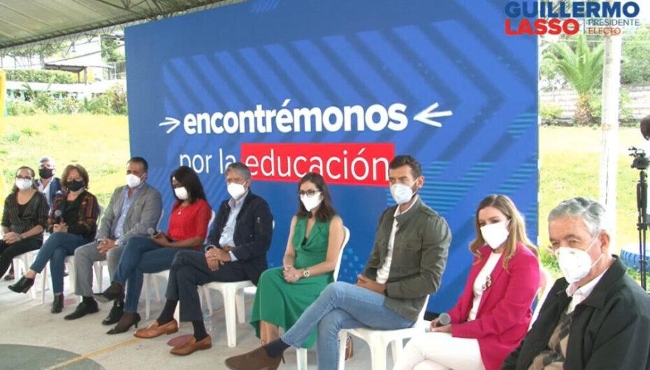 Lasso anunció a ministros del Frente Social para su Gobierno